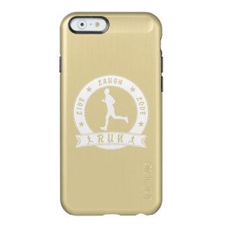 Capa Incipio Feather® Shine Para iPhone 6 Círculo masculino do FUNCIONAMENTO vivo do amor do