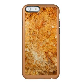 Capa Incipio Feather® Shine Para iPhone 6 coleção natural. rocha dourada. Piscina