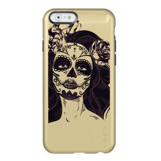 Capa Incipio Feather® Shine Para iPhone 6 Crânio gótico