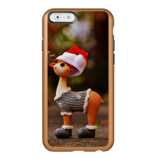 Capa Incipio Feather® Shine Para iPhone 6 Decorações da rena - rena do Natal