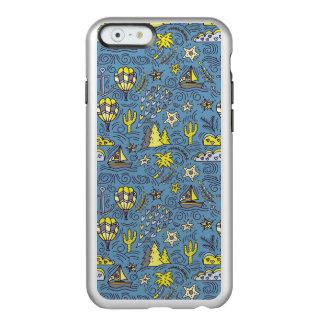 Capa Incipio Feather® Shine Para iPhone 6 Divertimento do viagem
