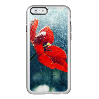 Capa Incipio Feather® Shine Para iPhone 6 Flor na chuva
