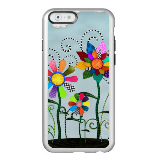Capa Incipio Feather® Shine Para iPhone 6 Flores lunáticas