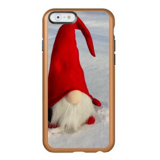 Capa Incipio Feather® Shine Para iPhone 6 Gnomo escandinavo do Natal