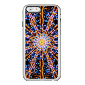 Capa Incipio Feather® Shine Para iPhone 6 Mandala da estrela da alquimia
