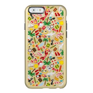 Capa Incipio Feather® Shine Para iPhone 6 Mar sul do viagem das férias de verão do teste