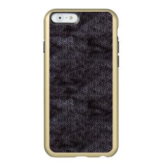 CAPA INCIPIO FEATHER® SHINE PARA iPhone 6  MÁRMORE HEXAGON1 PRETO & AGUARELA PRETA (R)