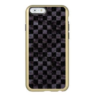 CAPA INCIPIO FEATHER® SHINE PARA iPhone 6  MÁRMORE SQUARE1 PRETO & AGUARELA PRETA