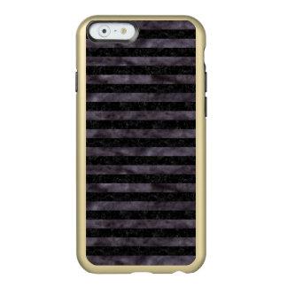 CAPA INCIPIO FEATHER® SHINE PARA iPhone 6  MÁRMORE STRIPES2 PRETO & AGUARELA PRETA