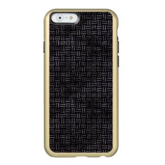CAPA INCIPIO FEATHER® SHINE PARA iPhone 6  MÁRMORE WOVEN1 PRETO & AGUARELA PRETA