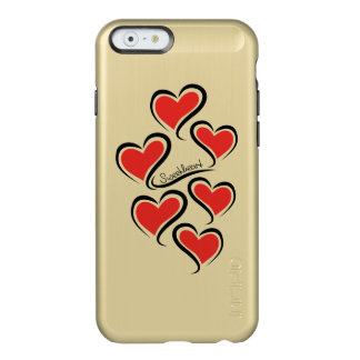 Capa Incipio Feather® Shine Para iPhone 6 Meus namorados do querido