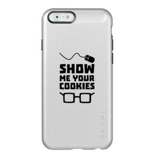 Capa Incipio Feather® Shine Para iPhone 6 Mostre-me seu geek Zb975 dos biscoitos