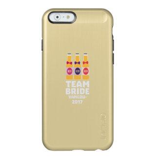 Capa Incipio Feather® Shine Para iPhone 6 Noiva Vancôver da equipe 2017 Z13n1