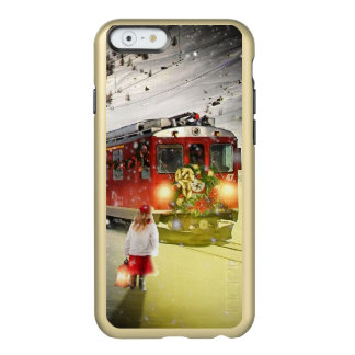 Capa Incipio Feather® Shine Para iPhone 6 O papai noel expresso do Pólo Norte - trem do