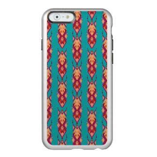 Capa Incipio Feather® Shine Para iPhone 6 Ornamento asteca tribal étnico do vintage