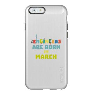 Capa Incipio Feather® Shine Para iPhone 6 Os engenheiros são em março Za0s2 nascidos
