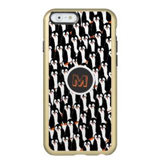 Capa Incipio Feather® Shine Para iPhone 6 Pilhas bonitos e lunáticas dos pinguins