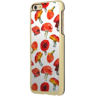 Capa Incipio Feather® Shine Para iPhone 6 Plus A aguarela cresce rapidamente teste padrão bonito