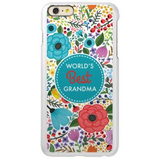 Capa Incipio Feather® Shine Para iPhone 6 Plus A melhor avó do mundo