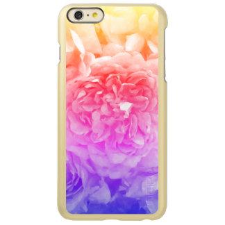 Capa Incipio Feather® Shine Para iPhone 6 Plus Amarelo na moda, cor-de-rosa, rosa do roxo