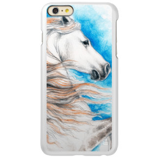 Capa Incipio Feather® Shine Para iPhone 6 Plus Azul andaluz do cavalo