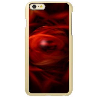 Capa Incipio Feather® Shine Para iPhone 6 Plus Esfera do fogo vermelho