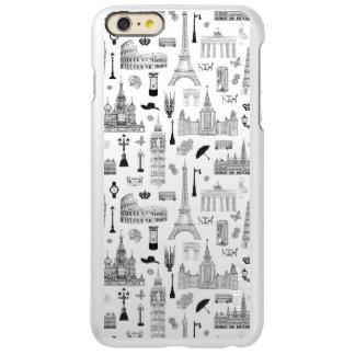 Capa Incipio Feather® Shine Para iPhone 6 Plus Férias no teste padrão de Europa