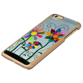 Capa Incipio Feather® Shine Para iPhone 6 Plus Flores lunáticas