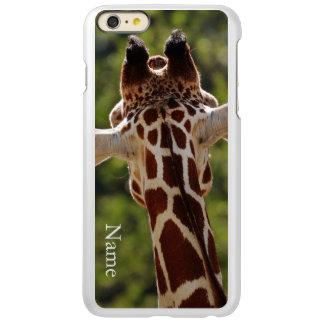 Capa Incipio Feather® Shine Para iPhone 6 Plus Girafa