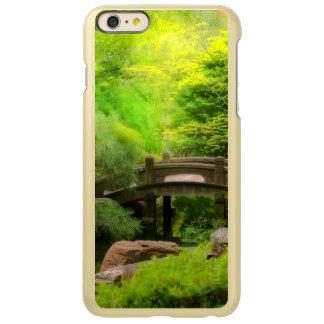 Capa Incipio Feather® Shine Para iPhone 6 Plus Jardim japonês - água sob a ponte