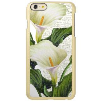 Capa Incipio Feather® Shine Para iPhone 6 Plus Lírios de Calla bonitos