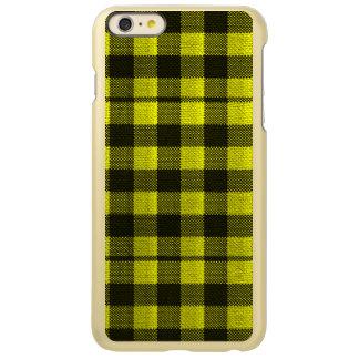 Capa Incipio Feather® Shine Para iPhone 6 Plus Olhar Checkered de serapilheira do teste padrão do