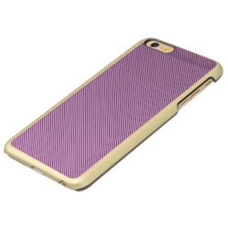 Capa Incipio Feather® Shine Para iPhone 6 Plus Orquídea e listra preta