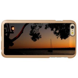 Capa Incipio Feather® Shine Para iPhone 6 Plus Por do sol do porto de Dana Point