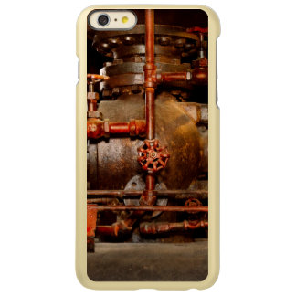 Capa Incipio Feather® Shine Para iPhone 6 Plus Steampunk - sonhos de tubulação