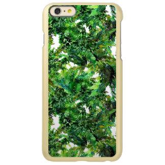Capa Incipio Feather® Shine Para iPhone 6 Plus Teste padrão verde da queda da floresta da