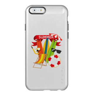 Capa Incipio Feather® Shine Para iPhone 6 Praia Watersports do verão