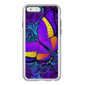 Capa Incipio Feather® Shine Para iPhone 6 Prazer da borboleta