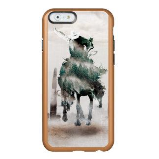 Capa Incipio Feather® Shine Para iPhone 6 Rodeio - exposição dobro - vaqueiro - vaqueiro do