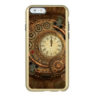 Capa Incipio Feather® Shine Para iPhone 6 Steampunk, maquinismo de relojoaria maravilhoso