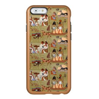 Capa Incipio Feather® Shine Para iPhone 6 Teste padrão dos símbolos de Egipto |