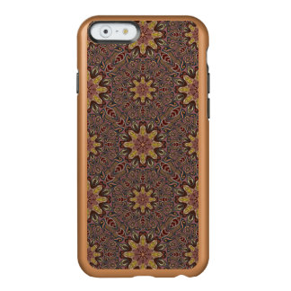 Capa Incipio Feather® Shine Para iPhone 6 Teste padrão floral étnico abstrato colorido de da