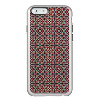 Capa Incipio Feather® Shine Para iPhone 6 Teste padrão sem emenda retro geométrico abstrato