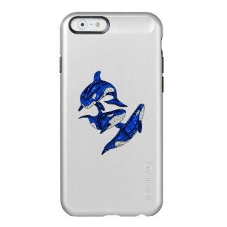 Capa Incipio Feather® Shine Para iPhone 6 Vagem de 3 orcas tribais