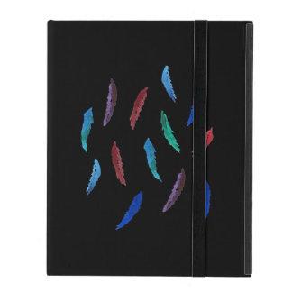 Capa iPad A aguarela empluma-se a caixa do iPad 2/3/4