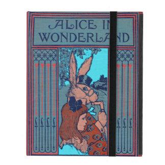 Capa iPad Alice no país das maravilhas que caracteriza 'o