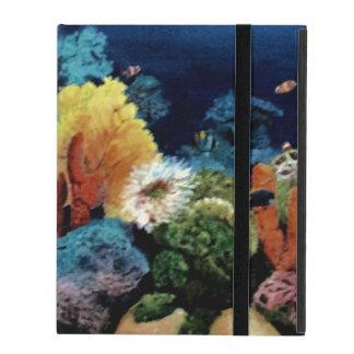 Capa iPad Aquário tropical