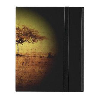 Capa iPad Árvore rústica