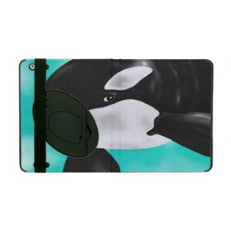 Capa iPad Baleia bonito da orca