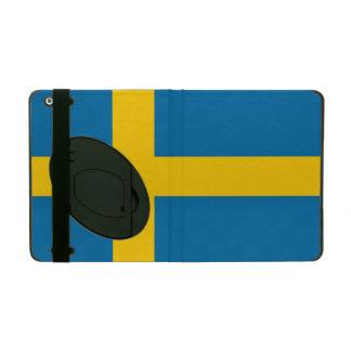 Capa iPad Bandeira nacional da suecia